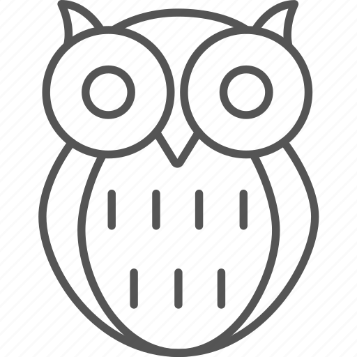 academic, bird, intelligent, knowledge, learning, owl, smart icon