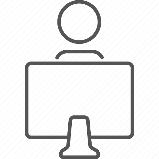 communication, computer, education, information, monitor, online, pc icon