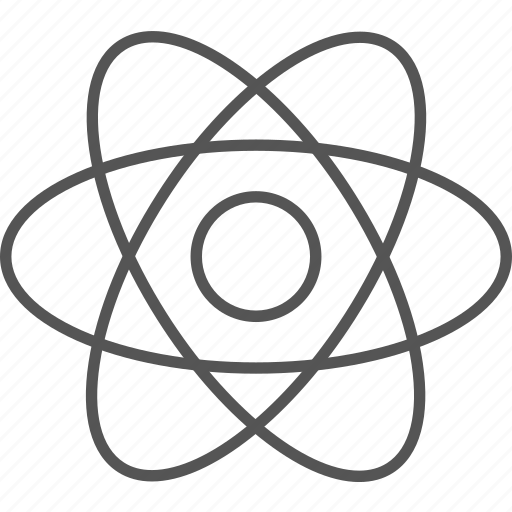 atom, biotechnology, chemistry, molecule, nano, nucleus, science icon