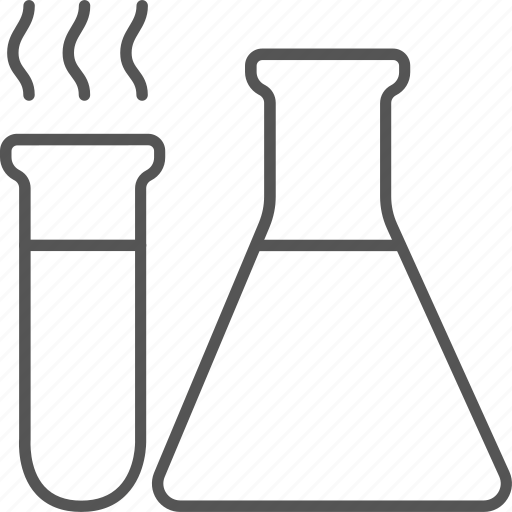 equipment, experiment, flask, laboratory, liquid, research icon