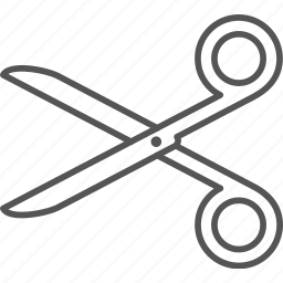 blade, craft, cutter, cutting, handle, scissors, teaching icon