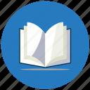 book, education, magazine icon