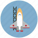 rocket, spaceship, startup icon