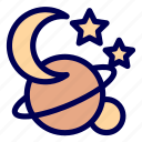 space, star icon