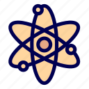 atom, laboratory, physics, science icon
