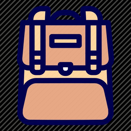 college, school, traveler icon