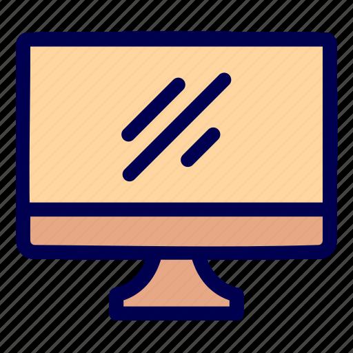 computer, desktop, interface icon