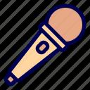 audio, microphone, media