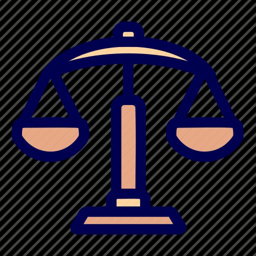 justice, law icon