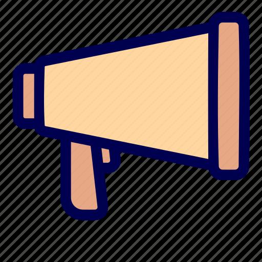 broadcast, loud, speaker icon