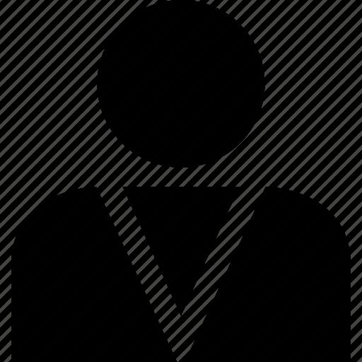 boss, person, persona, staff, student, user icon