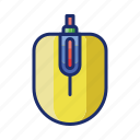 computer, mouse, technology icon