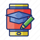 app, education, study icon