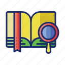 books, dictionary, encyclopedia icon