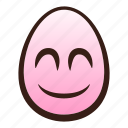 easter, egg, emoji, eyes, face, smiling icon