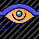 ancient, egypt, eye, left, life, sign
