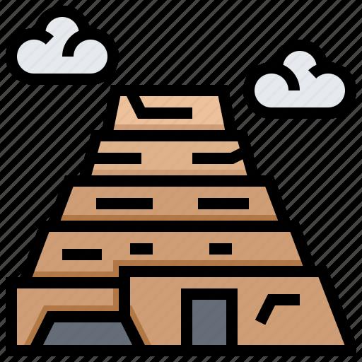 building, djoser, egypt, landmark icon