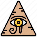 egypt, eye, horus icon