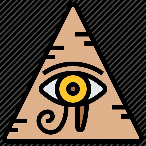 egypt, eye, horus icon