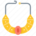 accessories, egypt, jewellery, necklace icon