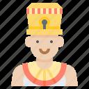 avatar, egypt, female, queen, woman icon