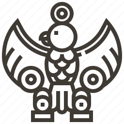 bird, culture, egyptian, ibis icon