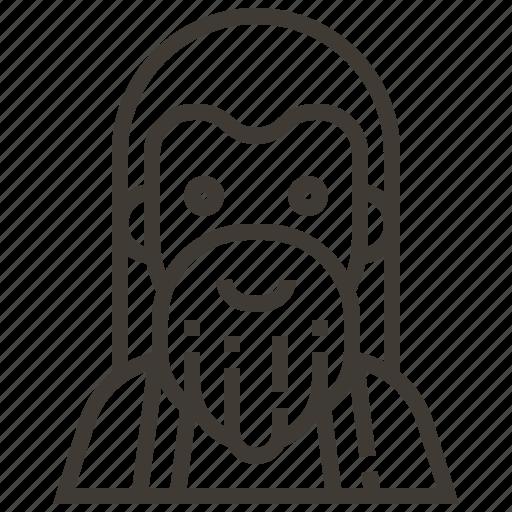 avatar, beard, man icon