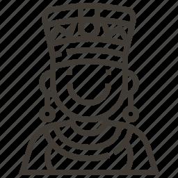 egypt, egyptian, sultan icon