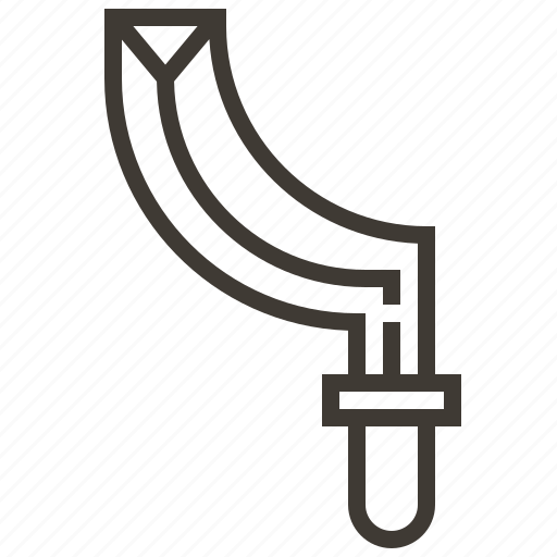 cut, sword, weapon icon