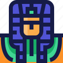 avatar, cairo, egypt, egyptian, giza, king, pharoh icon