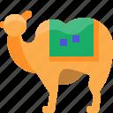 animal, camel, egypt, hoof, mammal, pet icon