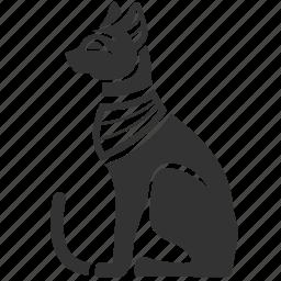 ancient, animal, cat, egypt, egyptian, egyptian mau, pet icon