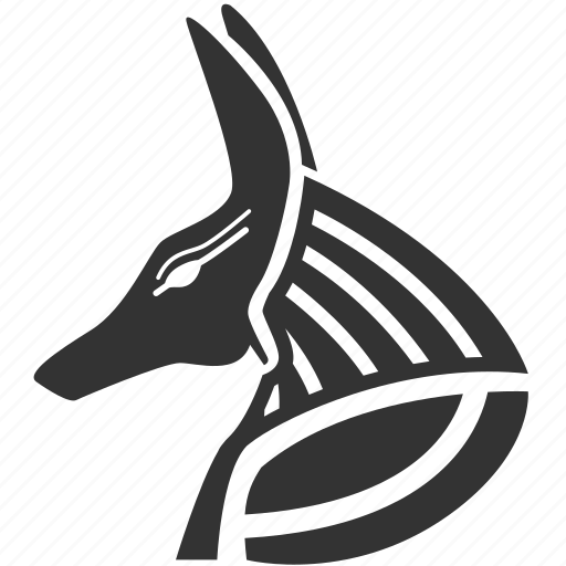 anubis, dog, egypt, egyptian, egyptian god, god, history icon