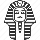 ancient, cairo, egypt, giza, history, king, pharaoh icon