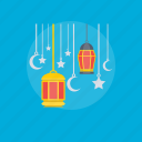 antique lantern, decorative light, globes, oil lamp, ramadan lantern icon