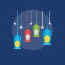 antique lantern, decorative light, eid lanterns, oil lamp, ramadan lantern icon