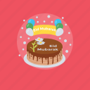 cake, celebration cake, eid cake, eid festival, sweet food icon