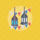 arabic lamp, lamp ornament, muslims lamp, ramadan lamp, vintage lamp icon