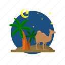camel, fasting, field, islam, kareem, ramadan, religion icon