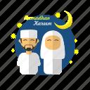 family, fasting, islam, kareem, muslim, ramadan, religion icon