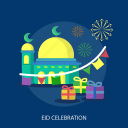 eid celebration, eid mubarak, islamic, mosque, ramadan, religion icon