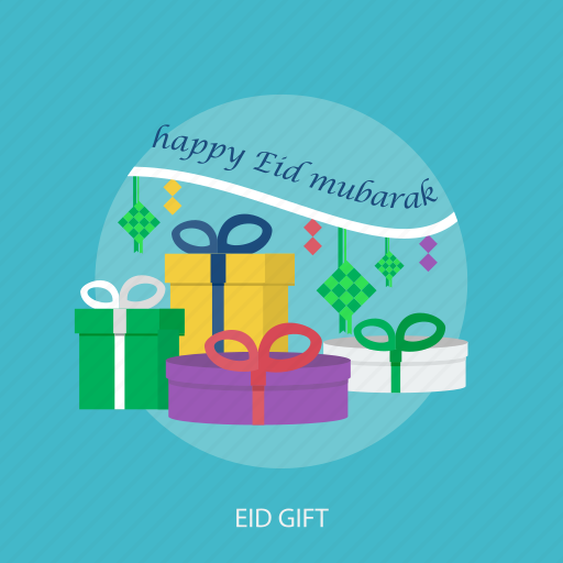 eid gift, eid mubarak, event, holiday, islamic, ramadan, religion icon
