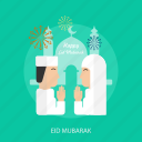 eid mubarak, face, islamic, mosque, ramadan, religion icon