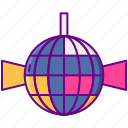 80s, ball, disco, music icon