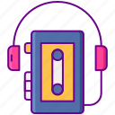 walkman, music, sony icon