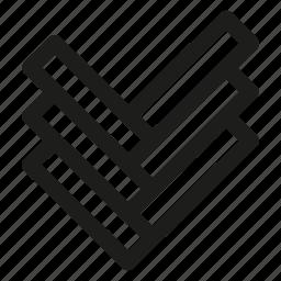 floor, material, parquet icon
