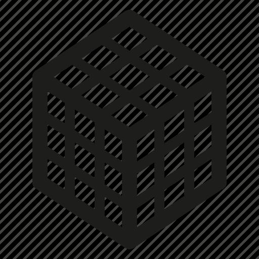 Block, cube, rubik icon - Download on Iconfinder