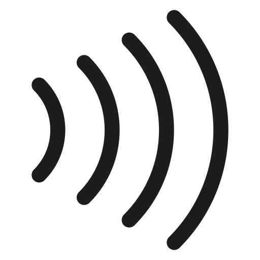 Image result for contactless symbol