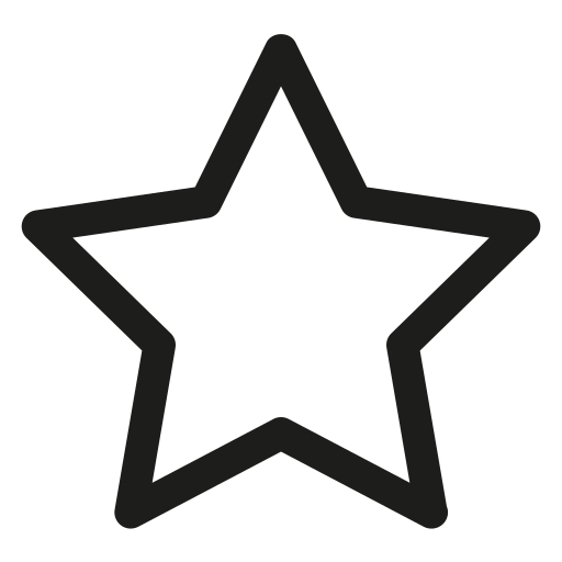 favorite, saved items, star icon