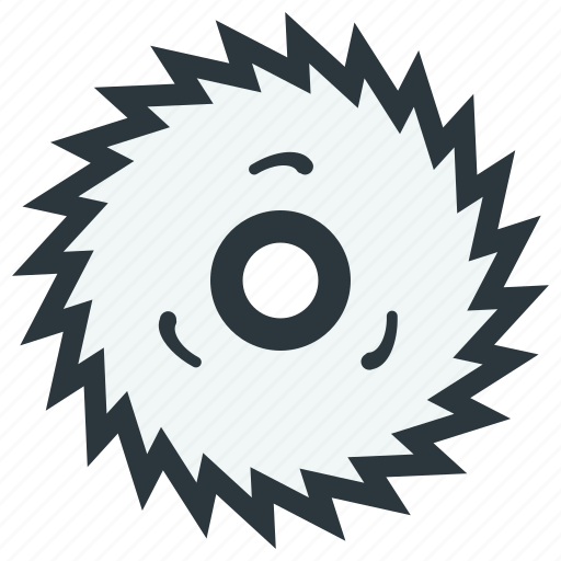 blade, disc, disk, milling icon